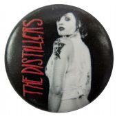 The Distillers - 'Brody Dalle' Button Badge